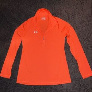 Women's Under Armour Heat Gear 1/2 Zip Pullover